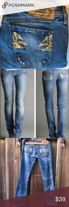 Diesel LOWKY 8E4 stretch skinny jeans NWOT ideal stone washed medium blue colour pants, denim trousers  skinny jeans. With back pockets sequin detail.  Waist 15 inches x2; hip 17 inches x 2; in steam 29 inches; total length 36 inches; rise 6 inches; tight 8.5 inches Diesel Jeans Skinny