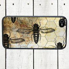 iphone 6 case Honeycomb Bee iPhone Case  iPhone 44s  par Arete