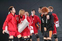 hyper projection play haikyuu!! karasuno revival! | Tumblr