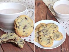 Miss Blueberrymuffin's kitchen: Chocolate Chip Cookies mit geheimer Nutella-Füllung