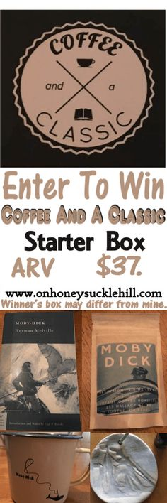 Coffee and a Classic Subscription Box Review + Giveaway   On Honeysuckle Hill