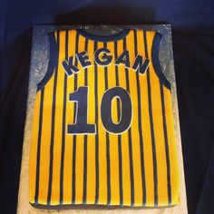Pacers jersey cake