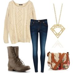 Fall outfit! Love the shoes!