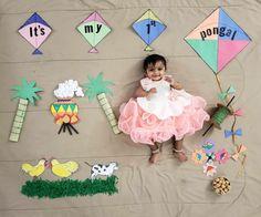Monthly Baby Photos, Newborn Baby Photos, Baby Girl Photos, Baby Boy Newborn, Cute Kids Photography, Newborn Baby Photography, New Baby Pictures, One Month Baby, Sanskrit
