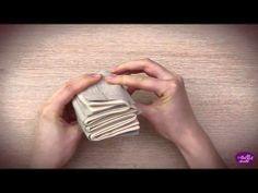 Pliage de serviettes on pinterest napkins chemises and lotus - Pliage serviette chemise ...