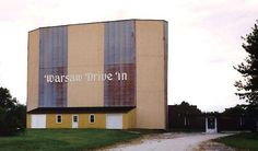 Warsaw Drive-in Theater in Warsaw, Indiana. demolished