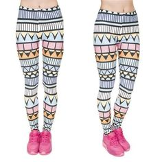 Cipactli Aztec Pattern Leggings Thickness: Standard Waist Type: Mid Length: Ankle-Length Material: Cotton,Polyester Fabric Type: Knitted Pattern Type: Print BUY NOW! FREE SHIPPING #leggings #capri #fashion #style #workout #fitness #yoga #yogalove http://w