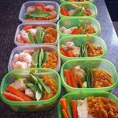 Looks like @lawrencedanielshore is fueling himself with healthy options! He has chicken breast and shrimp with mashed sweet potato and brown rice raw carrots and snowpeas. - Fill yourself with the right foods for your nutritional needs! Download @mealplanmagic for templates and tools to make it happen. - ALL-IN-ONE TOOL & GUIDES -  Build Custom Plans & Set Nutrition Goals  BMR BMI & Max Rate Calculator  Get Your Macros by Body Type & Goal  Grocery Lists Automated to Weekly Needs  Accurate…