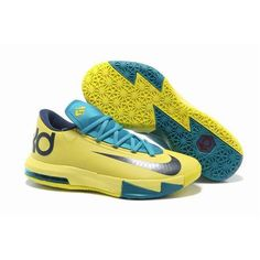 96f1bd7a16b Discount Price at Nike Zoom KD 6 Yellow Teal Navy shoes. Our store sale  cheap kd 6 yellow teal navy shoes. Buy now!