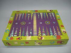 Zecca MSS Finishing, needlepoint backgammon board