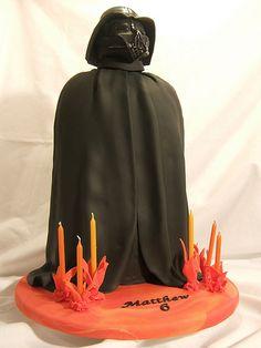 Bolo Darth Vader (Foto: Reprodução)