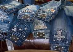 lots of Miss Me jeans :)