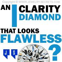 ►► AN I CLARITY DIAMOND THAT LOOKS FLAWLESS ►► Jewelry Secrets