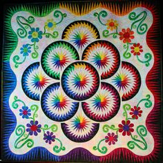 Cabbage Corner: Wild About Quilts? Um, yes we are!