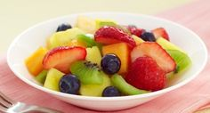 Very Vanilla Fruit Salad: Refreshing fruit salad is welcome anytime -- serve at brunch, at dessert or snack time, or bring to a potluck.
