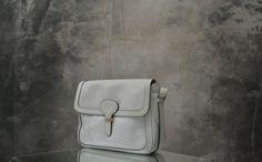 White Ferragamo Handbag 1980s by Petrune on Etsy, $185.00