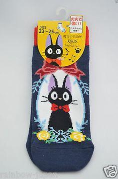 Kiki's Delivery Service Women's Socks 1pair 23 -25 cm Studio Ghibli JAPAN 02
