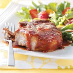 Saucy Pork Chops Recipe