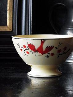 Antique Faience Bowl   Antique Interior DOANOB