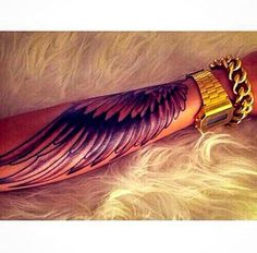 Wing Tattoo 40