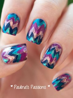 Paulina's Passions #nail #nails #nailart