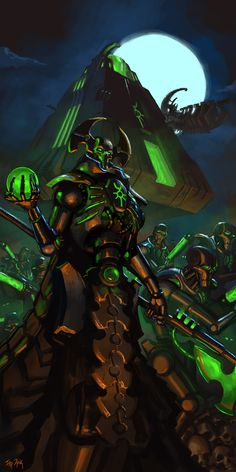 haaaaaaaaave-you-met-ted:  WH40K: Deathless by StuartHughe