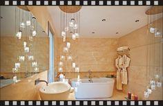 Modern Bathroom Chandeliers Lighting Ideas