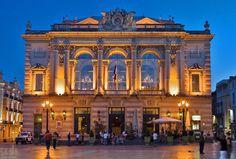 L'opéra, Place de la Comédie, Montpellier