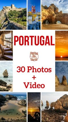 PORTUGAL TRAVEL GUIDE – Video retracing my visit around Portugal and 30 stunning pictures that will make you want to book a flight! Inspiring country! | Portugal things to do | Portugal Itinerary | Portugal photography | Portugal Scenery