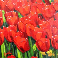 Tulips No.9  https://www.rogergoodefineart.com/paintings/tulips-no9  - Available for sale now