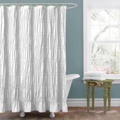 Creative shower cirtain ideas for your bathroom #diy #showercurtain #bathroomideas