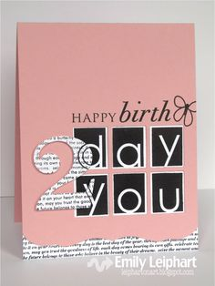 Art♥from♥the♥Heart: HAPPY birthday 2 you