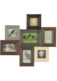 Antique Design Multi Aperture Frame 61.5cm x 56cm x 2cm