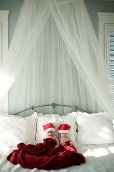 Schattige foto van kerstbaby's - MiniMe.nl