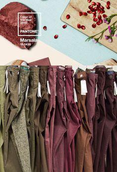 """Sapevate che il #colore #Pantone del #2015 è """"Marsala""""? #ATPCO ci aveva già pensato!  Do you know """"#Marsala"""" is Pantone color 2015? ATPCO has already set it up!  #colors #fashion #style"""