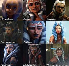 Star Wars Jokes, Star Wars Facts, Star Wars Comics, Star Wars Rebels, Star Wars Clone Wars, Images Star Wars, Star Wars Pictures, Ahsoka Tano, Theme Star Wars