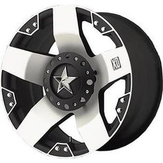 for the truck - KMC XD-SERIES XD 775 ROCKSTAR MACHINED rims 17 inch