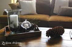 Decorating Living Room Design Ideas Traditional Fall Coffee Table Decor Decorating For Fall On A Budget Square Storage Coffee Table Living Room Furniture Fall Coffee Table Decor Ideas Small Spaces