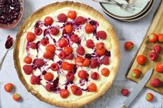 Bosvruchtentaart – SINNER SUNDAY Love Food, A Food, Cookie Pie, Pie Cake, The Dish, Easy Cooking, No Cook Meals, Bbq, Sweets