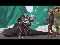 CGI How to Train Your Dragon 2 Animation Process