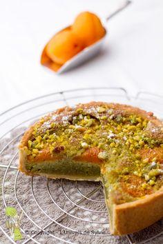 Tarte amandine pistache abricot