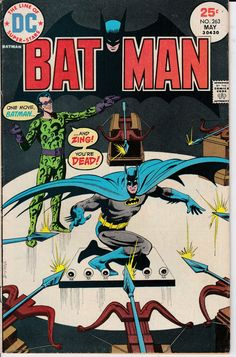 Batman 263  May 1975 Issue  DC Comics  Grade VG/FN by ViewObscura