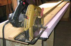Free Circular Saw Cutting Guide Plan - Free Panel Saw Plans