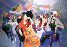 Women in Painting by Israeli Artist Isaac Maimon ~ Blog of an Art Admirer