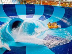 No sunscreen needed: This indoor water park resort provides all-seasons fun for the whole family.  The Digs With kid-friendly thrills and plenty of space for adults to chill, Kalahari Resort offers something ...