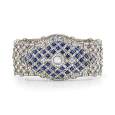 Kwiat: Minaret diamond bracelet from the Kwiat Vintage Collection in 18K white gold