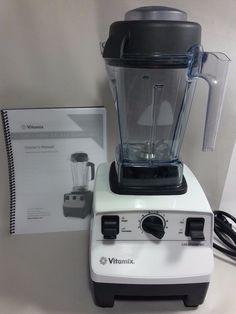 VITAMIX Creations GC 5200 Variable 10 Sp Blender LIGHT USE-2018 Warranty &Manual #Vitamix