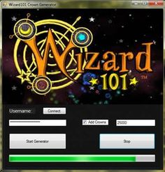 Wizard101 Crown Generator Download at http://tooldownload.net/wizard101-crown-generator/