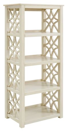 Choose from a wide range of Corner and Tall Bookcases with 3 or 5 shelves at affordable prices. Let Ashley Furniture HomeStore be your storage solution. Shabby Chic Bookcase, Antique Bookcase, Etagere Bookcase, Shabby Chic Furniture, Bookcase White, Luxury Furniture, Narrow Bookshelf, Wooden Bookcase, Antique Desk