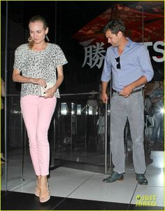 Diane Kruger's style = perfection.  I love this outfit.